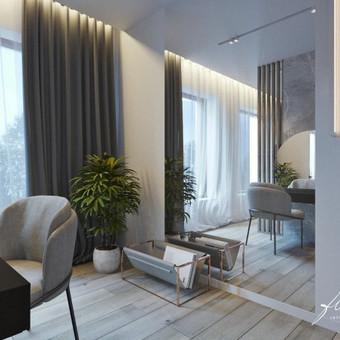 Interjero projektavimas / Flamingo interjero namai / Darbų pavyzdys ID 443491