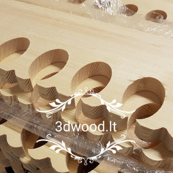 2D, 3D ir 4D frezavimas, 3D skenavimas / 3D Group EU, 3D Wood / Darbų pavyzdys ID 443623