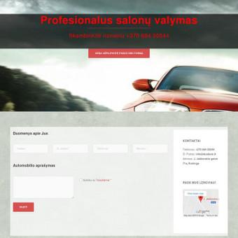 Interneto svetainių kūrimas Tauragėje / Orestas Šliažas / Darbų pavyzdys ID 443991
