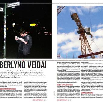 Straipsnis apie Berlyną lietuvių-anglų kalbomis skrydžio žurnalui.
