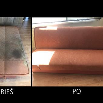 Minkštų baldų valymas Panevėžyje / Arnoldas Černauskas / Darbų pavyzdys ID 445383