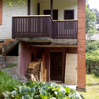 Senu mediniu namu renovacija,rekonstrukcija / Aivaras / Darbų pavyzdys ID 445629