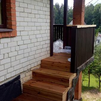 Senu mediniu namu renovacija,rekonstrukcija / Aivaras / Darbų pavyzdys ID 445631