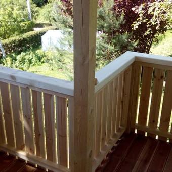 Senu mediniu namu renovacija,rekonstrukcija / Aivaras / Darbų pavyzdys ID 445633