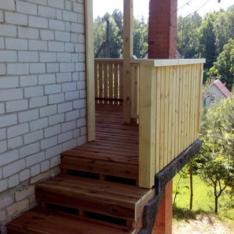 Senu mediniu namu renovacija,rekonstrukcija / Aivaras / Darbų pavyzdys ID 445635