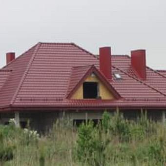 Dengiam stogus.montojam vent. fasadus / Stogai / Darbų pavyzdys ID 445967