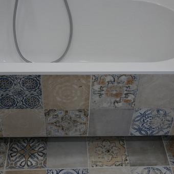 vonios apdirbimas ir apklijavimas plytelemis