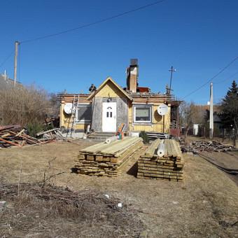 Dengiam stogus.montojam vent. fasadus / Stogai / Darbų pavyzdys ID 446743