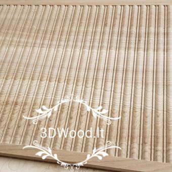 2D, 3D ir 4D frezavimas, 3D skenavimas / 3D Group EU, 3D Wood / Darbų pavyzdys ID 447059
