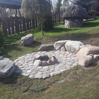 Akmens mūro darbai, Šlaitų ir pakrančių tvirtinimas.Atramine / Saulius / Darbų pavyzdys ID 447209