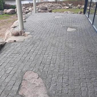 Akmens mūro darbai, Šlaitų ir pakrančių tvirtinimas.Atramine / Saulius / Darbų pavyzdys ID 447213