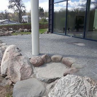 Akmens mūro darbai, Šlaitų ir pakrančių tvirtinimas.Atramine / Saulius / Darbų pavyzdys ID 447217
