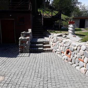 Akmens mūro darbai, Šlaitų ir pakrančių tvirtinimas.Atramine / Saulius / Darbų pavyzdys ID 447223