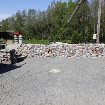Akmens mūro darbai, Šlaitų ir pakrančių tvirtinimas.Atramine / Saulius / Darbų pavyzdys ID 447227