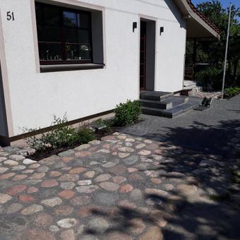 Akmens mūro darbai, Šlaitų ir pakrančių tvirtinimas.Atramine / Saulius / Darbų pavyzdys ID 447231