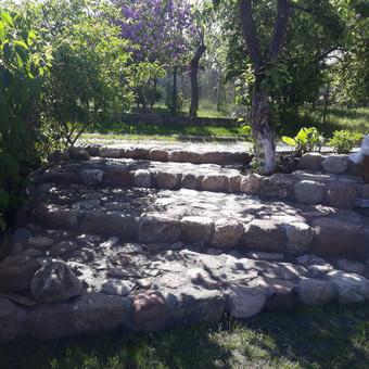 Akmens mūro darbai, Šlaitų ir pakrančių tvirtinimas.Atramine / Saulius / Darbų pavyzdys ID 447233
