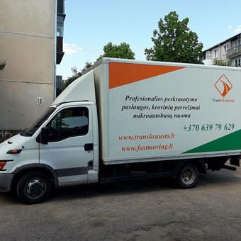 Perkraustymo paslaugos / MB Transkrausta / Darbų pavyzdys ID 447509