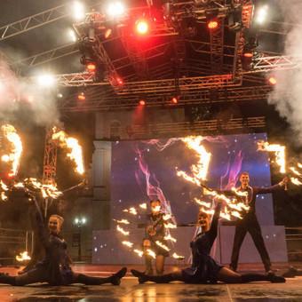 Fakyrų ugnies šou / Ugnies teatras / Darbų pavyzdys ID 447635