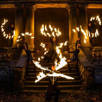 Fakyrų ugnies šou / Ugnies teatras / Darbų pavyzdys ID 447639