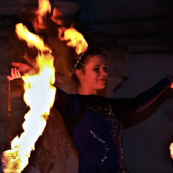 Fakyrų ugnies šou / Ugnies teatras / Darbų pavyzdys ID 447643