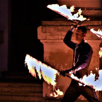 Fakyrų ugnies šou / Ugnies teatras / Darbų pavyzdys ID 447645
