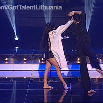 Profesionali šokėjų pora - Lukas ir Simona / Lukas Ališauskas / Darbų pavyzdys ID 449161