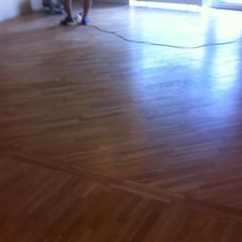 Darbai su medinėmis grindimis: klojimas, šlifavimas... / Rolandas / Darbų pavyzdys ID 449499
