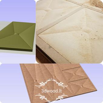 2D, 3D ir 4D frezavimas, 3D skenavimas / 3D Group EU, 3D Wood / Darbų pavyzdys ID 450581
