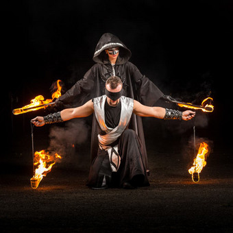 Viduramžiai LT ugnies šou INFERNO / Viduramžiai LT / Darbų pavyzdys ID 451241