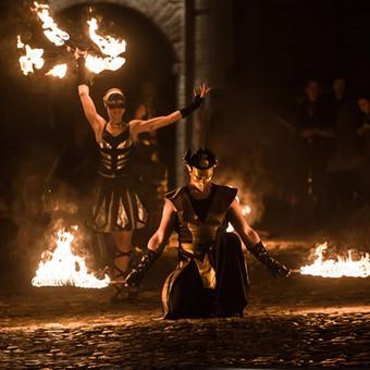 Viduramžiai LT ugnies šou INFERNO / Viduramžiai LT / Darbų pavyzdys ID 451247