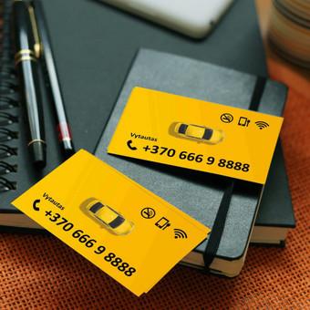 Vizitinių kortelių maketavimas