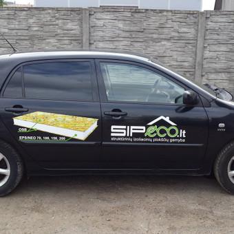 Reklama ant automobilio, lauko vidaus reklamos darbai / Trigalvis.lt / Darbų pavyzdys ID 451419