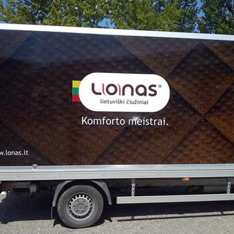 Reklama ant automobilio, lauko vidaus reklamos darbai / Trigalvis.lt / Darbų pavyzdys ID 451423