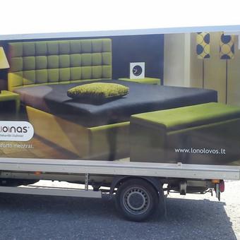 Reklama ant automobilio, lauko vidaus reklamos darbai / Trigalvis.lt / Darbų pavyzdys ID 451425