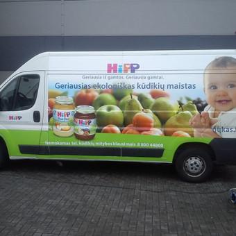 Reklama ant automobilio, lauko vidaus reklamos darbai / Trigalvis.lt / Darbų pavyzdys ID 451427