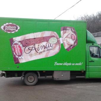 Reklama ant automobilio, lauko vidaus reklamos darbai / Trigalvis.lt / Darbų pavyzdys ID 451429