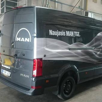 Reklama ant automobilio, lauko vidaus reklamos darbai / Trigalvis.lt / Darbų pavyzdys ID 451433