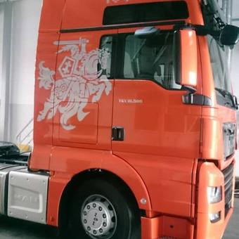 Reklama ant automobilio, lauko vidaus reklamos darbai / Trigalvis.lt / Darbų pavyzdys ID 451435