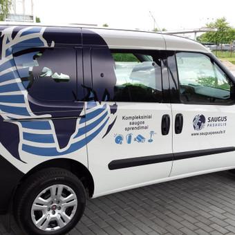 Reklama ant automobilio, lauko vidaus reklamos darbai / Trigalvis.lt / Darbų pavyzdys ID 451445