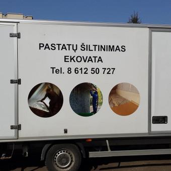Reklama ant automobilio, lauko vidaus reklamos darbai / Trigalvis.lt / Darbų pavyzdys ID 451447