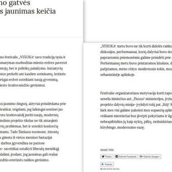 Tekstų kūrėja / Milda Žiūkaitė / Darbų pavyzdys ID 451507