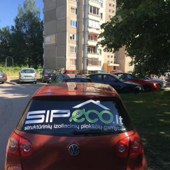 Reklama ant automobilio, lauko vidaus reklamos darbai / Trigalvis.lt / Darbų pavyzdys ID 451783