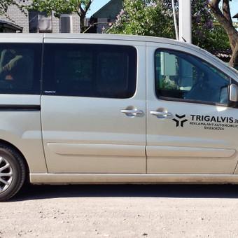 Reklama ant automobilio, lauko vidaus reklamos darbai / Trigalvis.lt / Darbų pavyzdys ID 451791