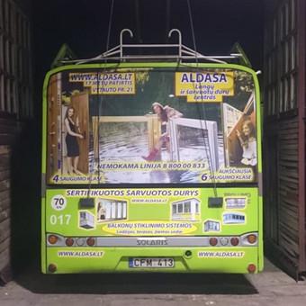 Reklama ant automobilio, lauko vidaus reklamos darbai / Trigalvis.lt / Darbų pavyzdys ID 451797