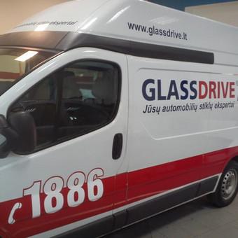 Reklama ant automobilio, lauko vidaus reklamos darbai / Trigalvis.lt / Darbų pavyzdys ID 451799