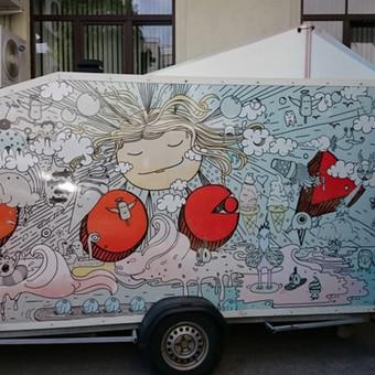 Reklama ant automobilio, lauko vidaus reklamos darbai / Trigalvis.lt / Darbų pavyzdys ID 451803