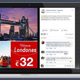Rezultatyvi e-reklama (Facebook, naujienlaiškiai ir kt.) / Aivaras / Darbų pavyzdys ID 452097