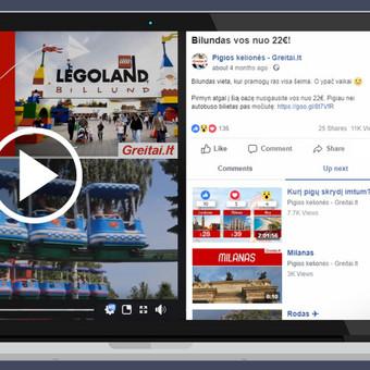 Rezultatyvi e-reklama (Facebook, naujienlaiškiai ir kt.) / Aivaras / Darbų pavyzdys ID 452099