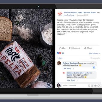 Rezultatyvi e-reklama (Facebook, naujienlaiškiai ir kt.) / Aivaras / Darbų pavyzdys ID 452101