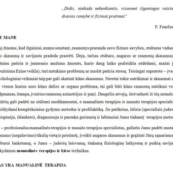 Tekstų kūrėjas ir redaktorius / Inesa / Darbų pavyzdys ID 452503